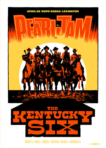 Pearl Jam 2016 Lexington Regular Edition Poster
