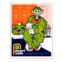 Pearl Jam 2003 State College Poster