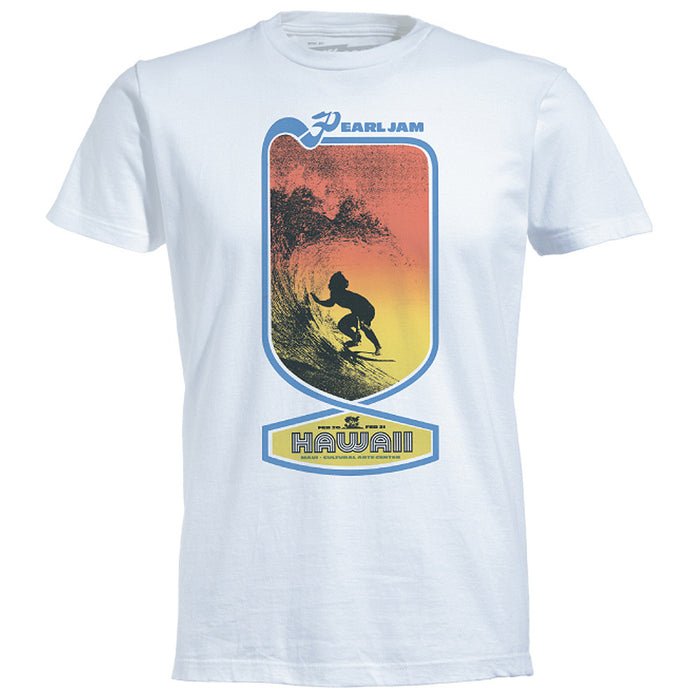 Pearl Jam Graphic T-Shirt - Hawaii White