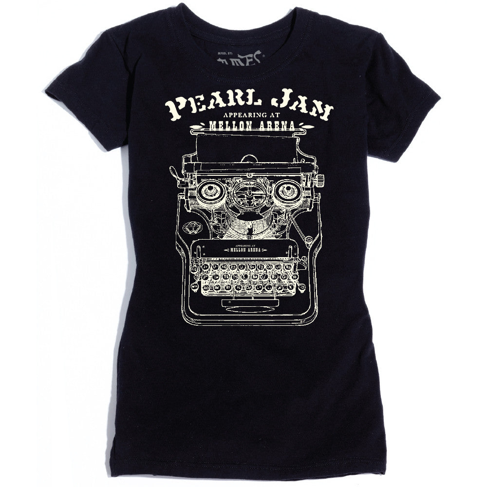 Ames Bros Women's Pearl Jam Pittsburgh T-Shirt