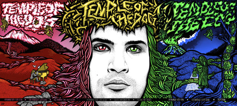Temple of the Dog 2016 Triptych Poster Set - Variant Edition