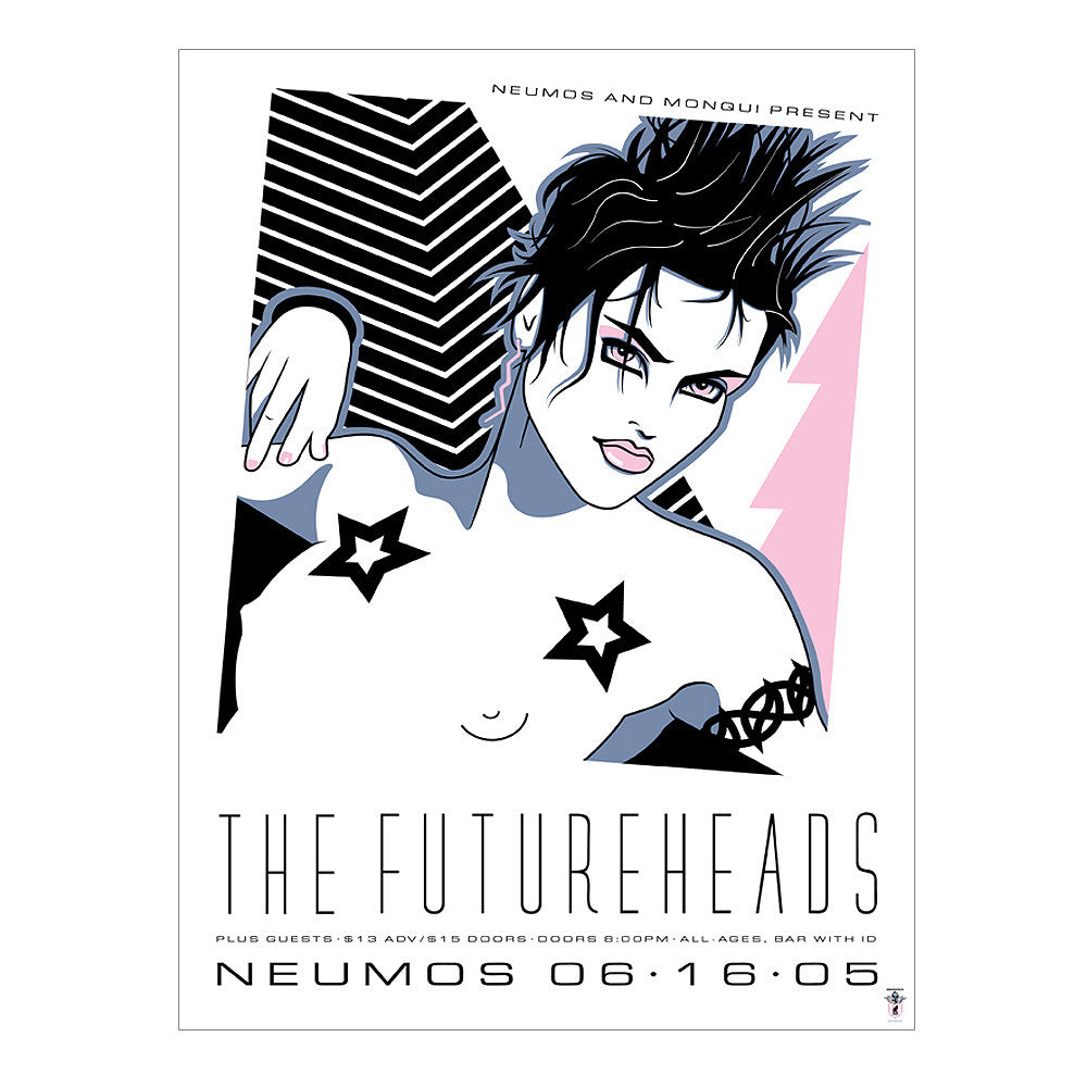 The Futureheads 2004 Seattle Poster
