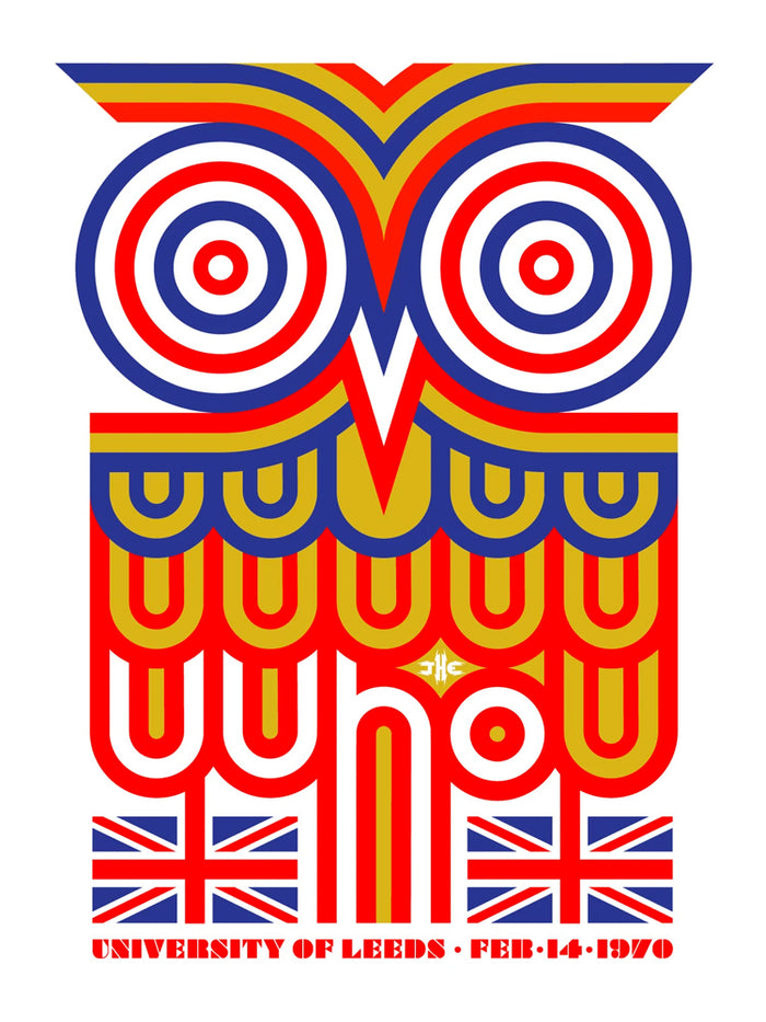 The Who LEEDS 2-15-1970 Poster - Main Edition