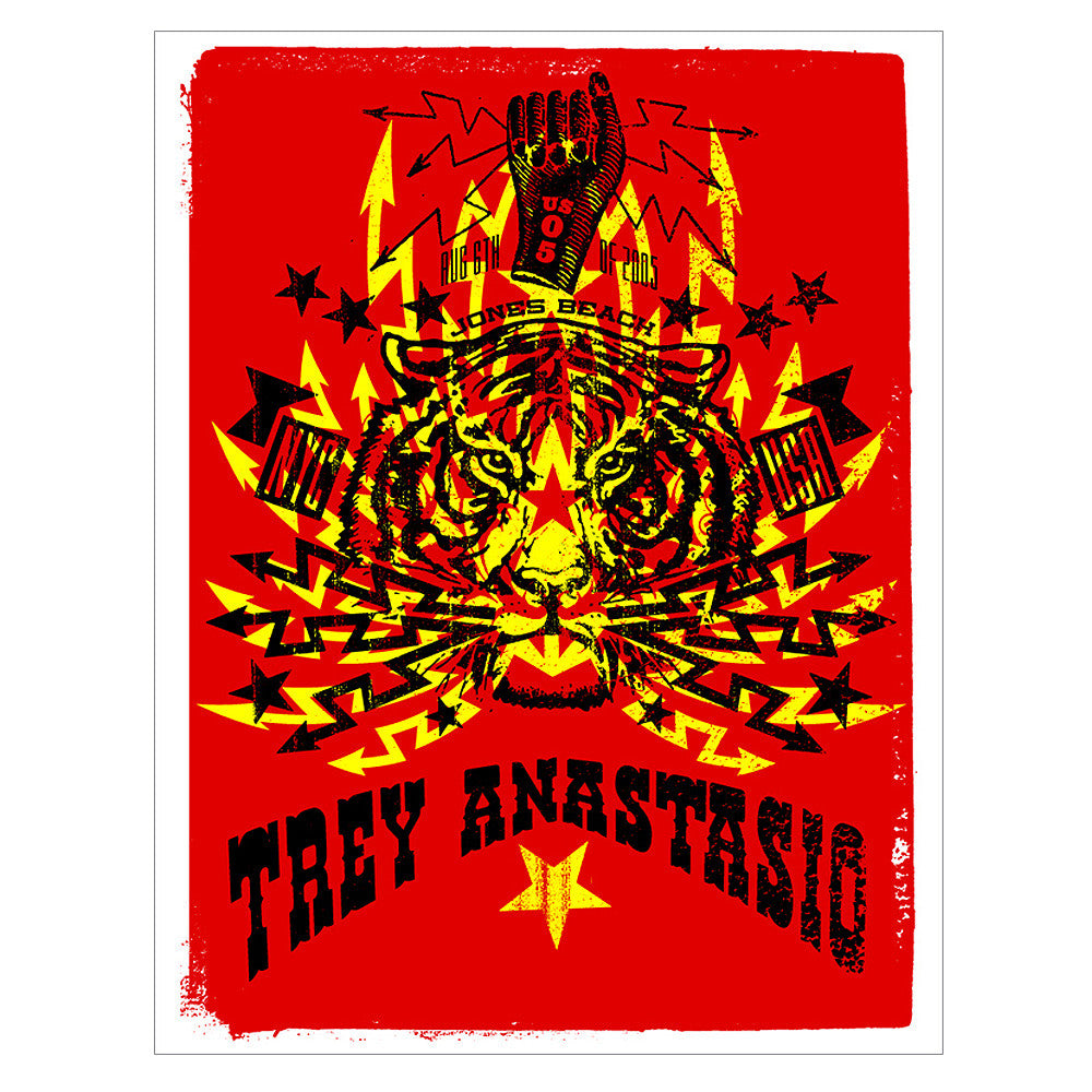 Trey Anastasio (Phish) 2005 Jones Beach NYC Poster