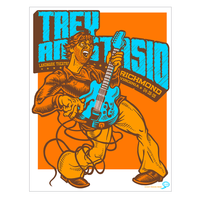 Trey Anastasio (Phish) 2005 Richmond Poster