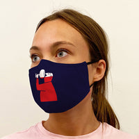 Wino Graphic 3-Layer Mask