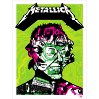 Metallica 2016 Webster Hall, New York, NY Poster - Variant Edition