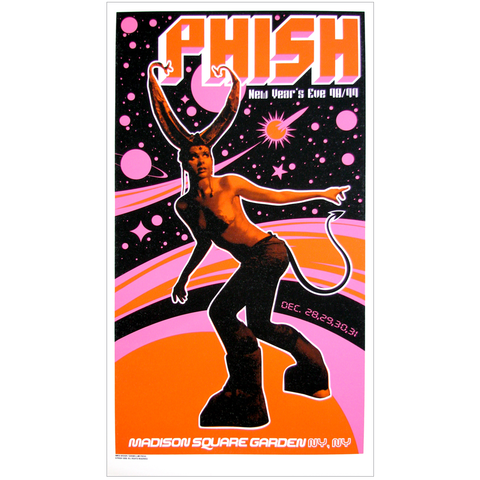 Phish 1998 New Year's Eve NYC Poster