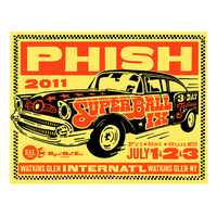 Phish 2011 Official Phish Super Ball IX Poster