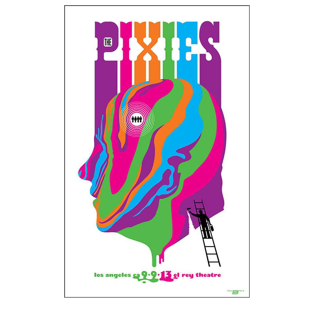 Pixies 2013 Los Angeles Poster