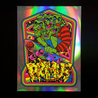 Primus 2017 Clearwater Poster - Rainbow Foil Edition