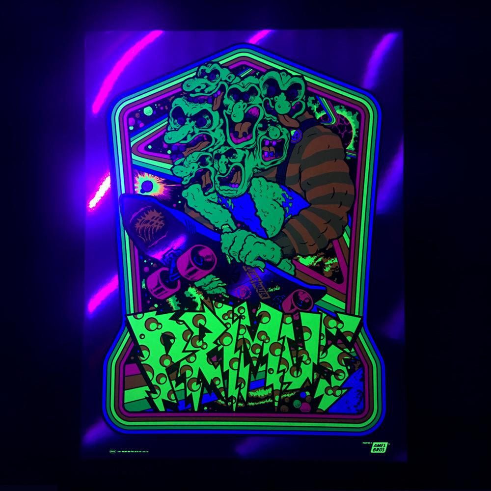 Primus 2017 Clearwater, FL Poster - Rainbow Foil Variant Edition