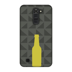 Beer And Pattern - Rust Brown Slim Hard Shell Case