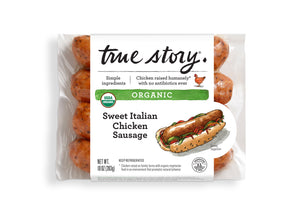 Organic Sweet Italian Chicken Sausage (6 Packages)