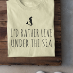 Live Under The Sea Boyfriend Tee