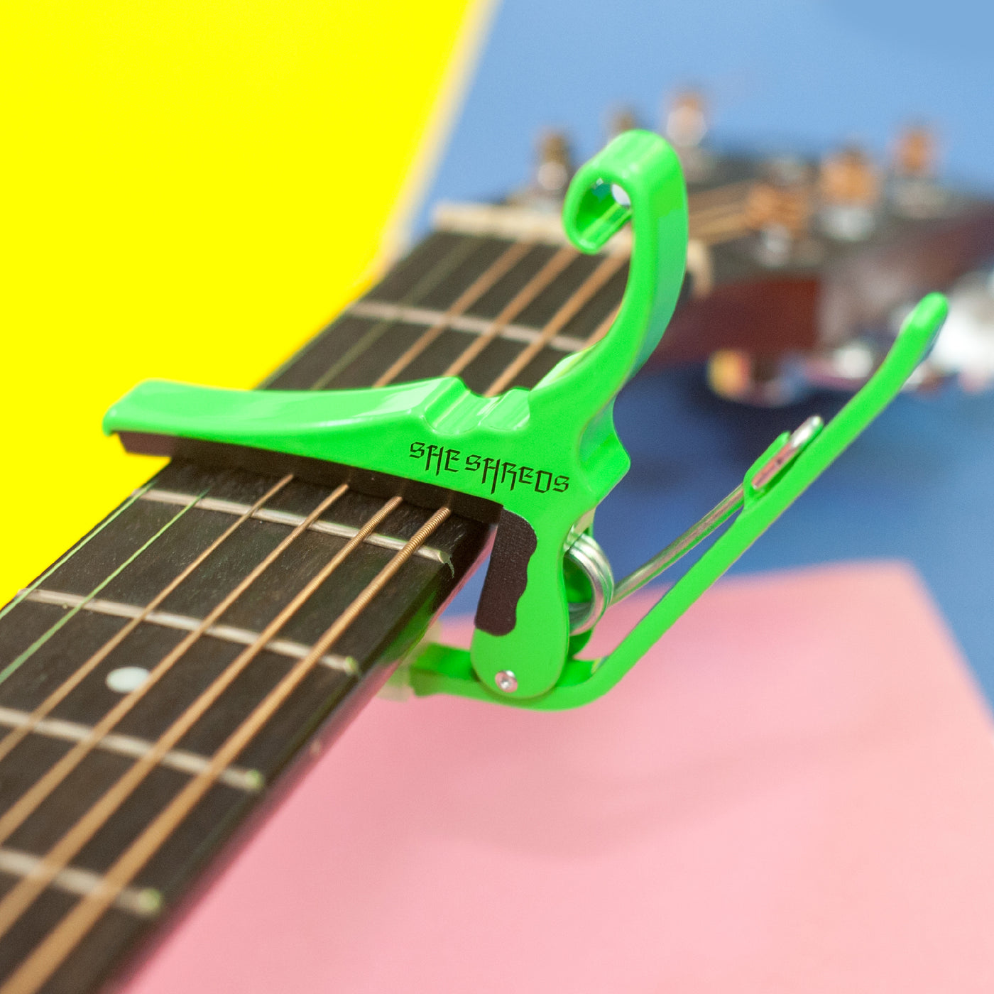 She Shreds x Kyser Limited Edition Acoustic Quick-Change Capo