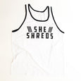 White Summer Tank with Black Lining **RARE**