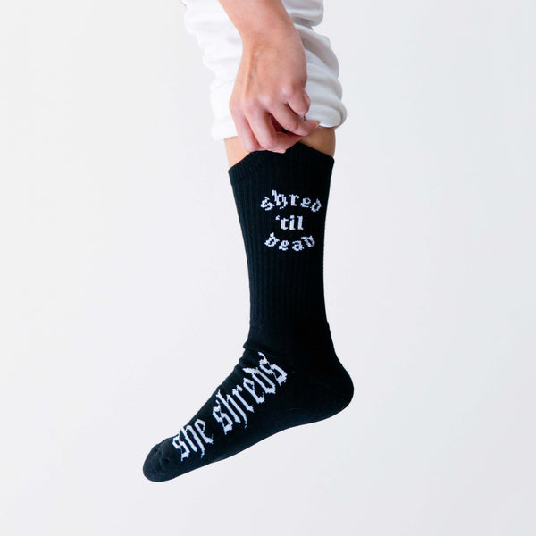 Shred Til Dead Socks