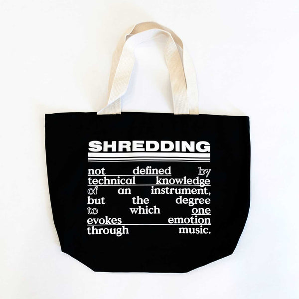 Shredding Tote