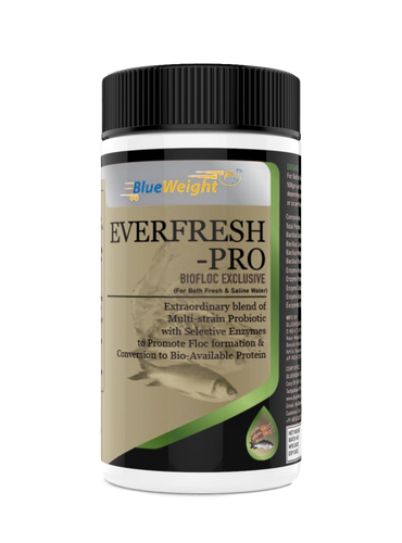 BLUEWEIGHT Everfresh Pro Aqua Probiotics, Multi Strain Probiotic 15b CFU/gm, 500 G