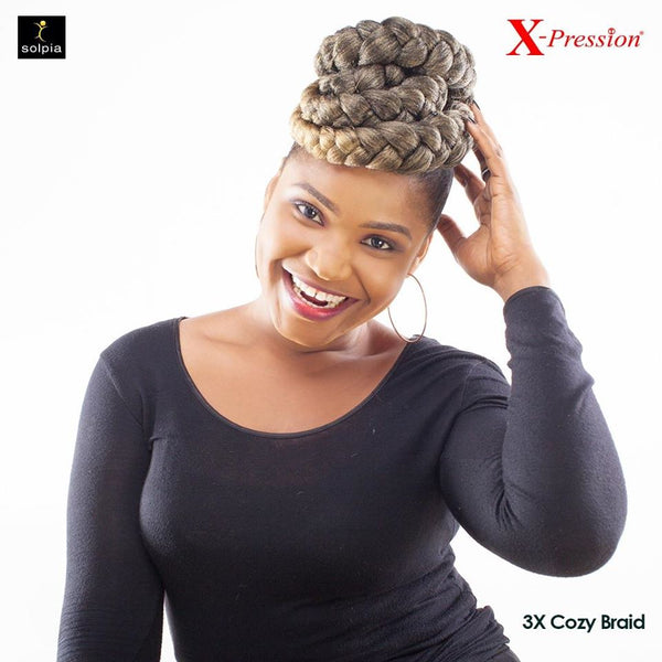 X-PRESSION 3X Cozy Braid