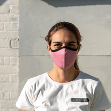 Load image into Gallery viewer, LUCKEfit Reusable Dusty Pink Mask -infused with ViralOff® - LUCKE NZ