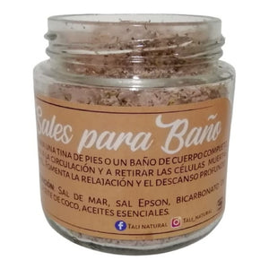 Sales Para Baño- Rosas - Tali Natural- 7 Oz
