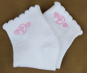 Personalized Little Girl Socks