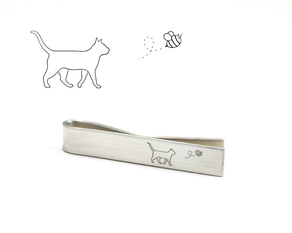 Custom Design Tie Clip, Engraved with Your Artwork
