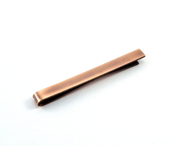 Antiqued Copper Tie Bar, Wedding Favours for Him