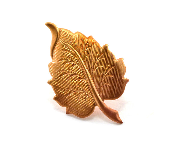 Autumnal Leaf Pin, Nature Lover Gift