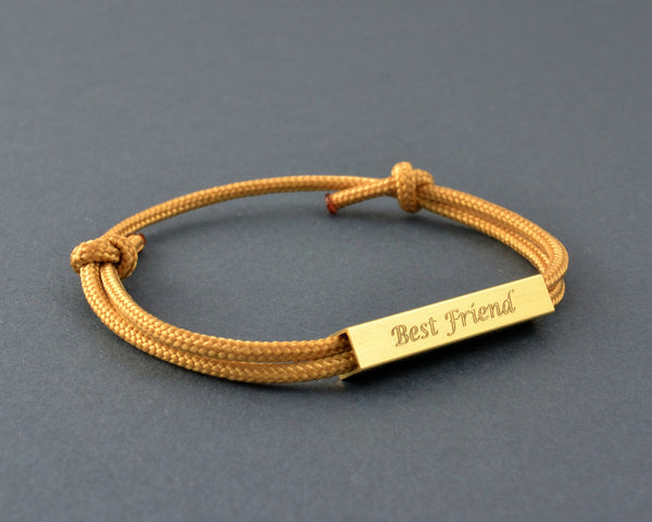 Personalised Bracelet, Engraved, Best Friend Gift