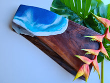 Load image into Gallery viewer, Timber Serving Board || Handmade > Hand Designed Ocean Inspired Resin Art
