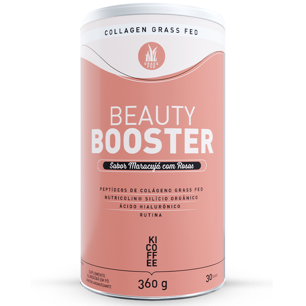 kicoffee beauty booster, colágeno grass fed