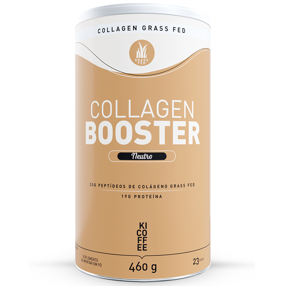 kicoffee collagen booster, colágeno grass fed