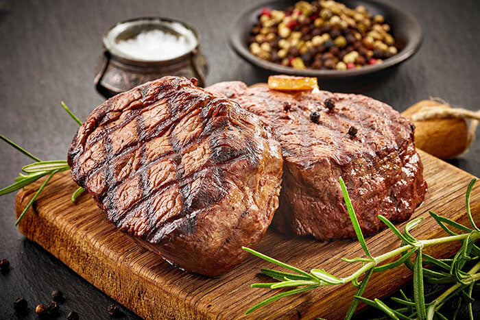 Weekly date night for two - Premium Steaks