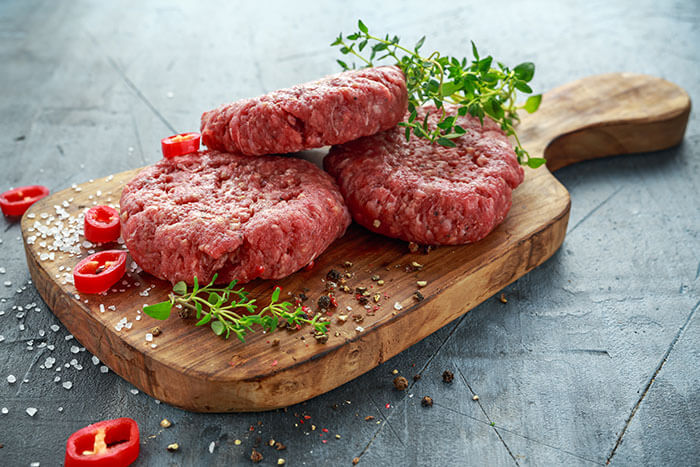 Grass Fed Veal Burgers