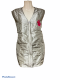 Long Zipper Stylist/Groomer Vest with Pockets