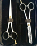 Professional Hair Cutting Thinning Scissors Barber Shears Hairdressing Set