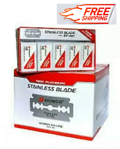 Dorco Platinum Blades, Extra Sharp, Double Edge