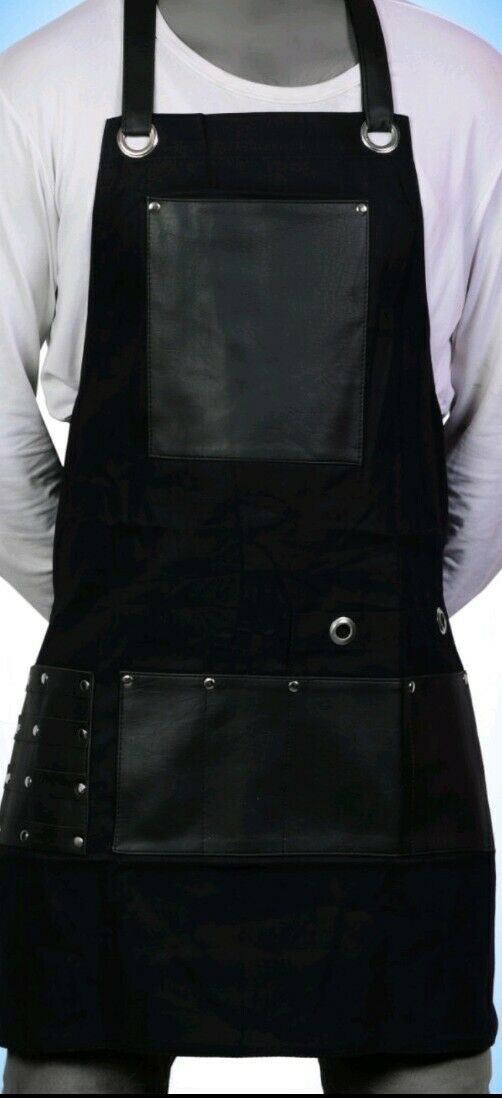 Salon Hairdressinxg Hair Cutting Apron Front-Back Cape for Barber Hairstylist