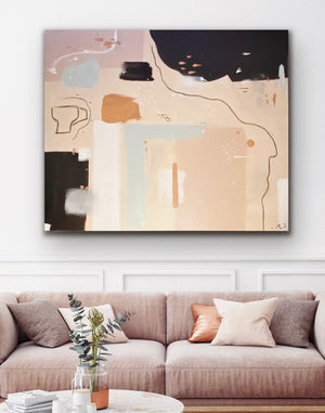 Alyce Fitzgerald Abstract Painting