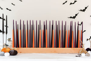 Medium Set Candles Only | Halloween Colors