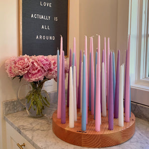 Round Set Candles Only | Pastels