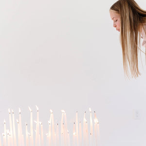 Small Set Candles Only | Whites
