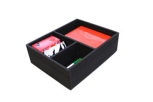 "Drawer Organizer 8 Compartment Fits IKEA Alex Tall Drawers 3 Compartgment 11.5"" x 14.5"" x 4.2"" Deep"