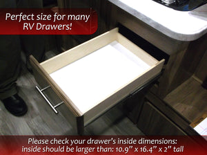 "Silverware Drawer Organizer 10.9"" x 16.4"" Great for RVs"