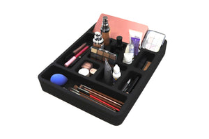 "Makeup Drawer Organizer (Nail Polish, Lipstick, More) Fits IKEA Alex and Many Others 11.5"" x 14.5"""