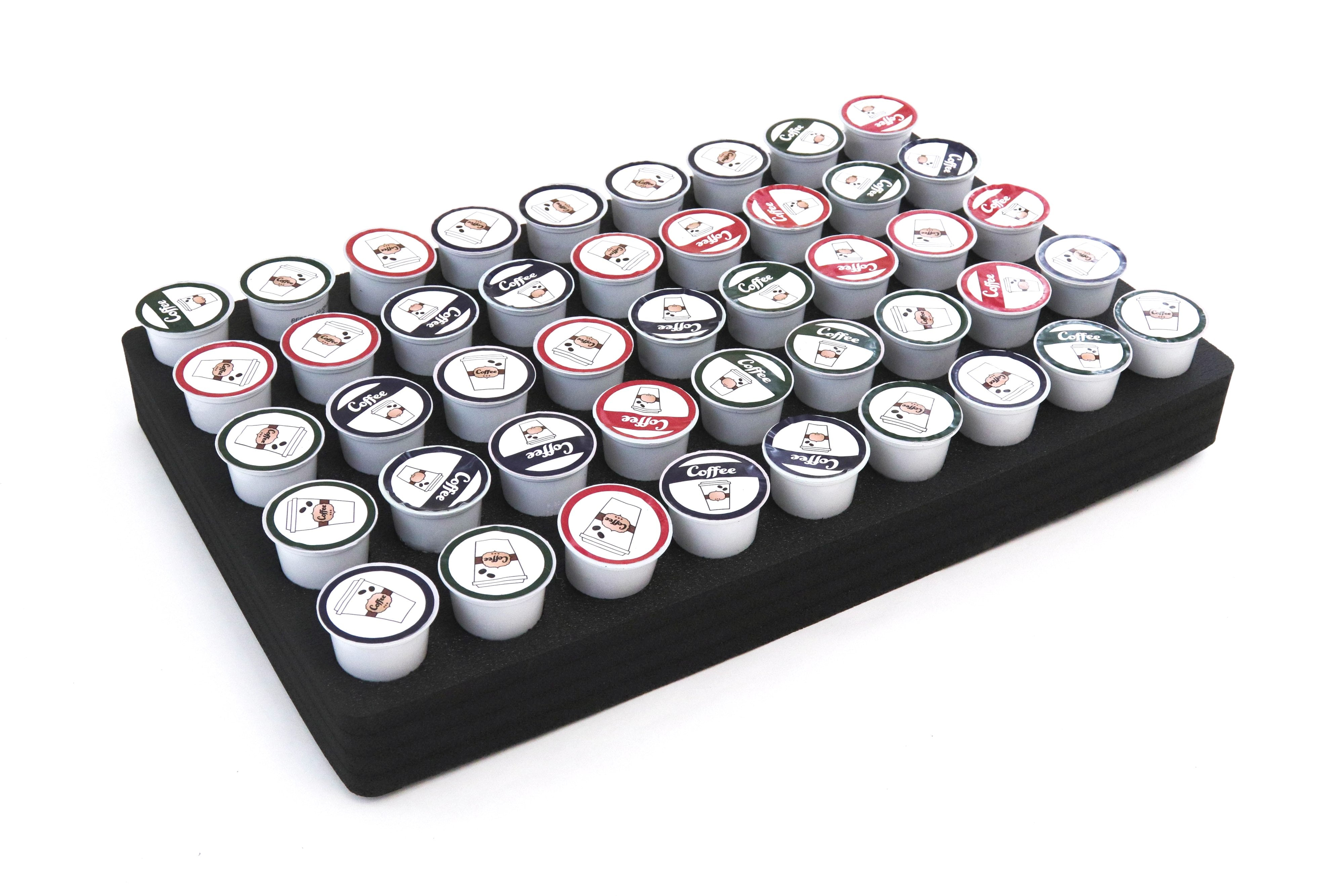"Coffee Pod Organizer Holds 45 Fits Keurig K-Cup 12.75"" x 20.25"""