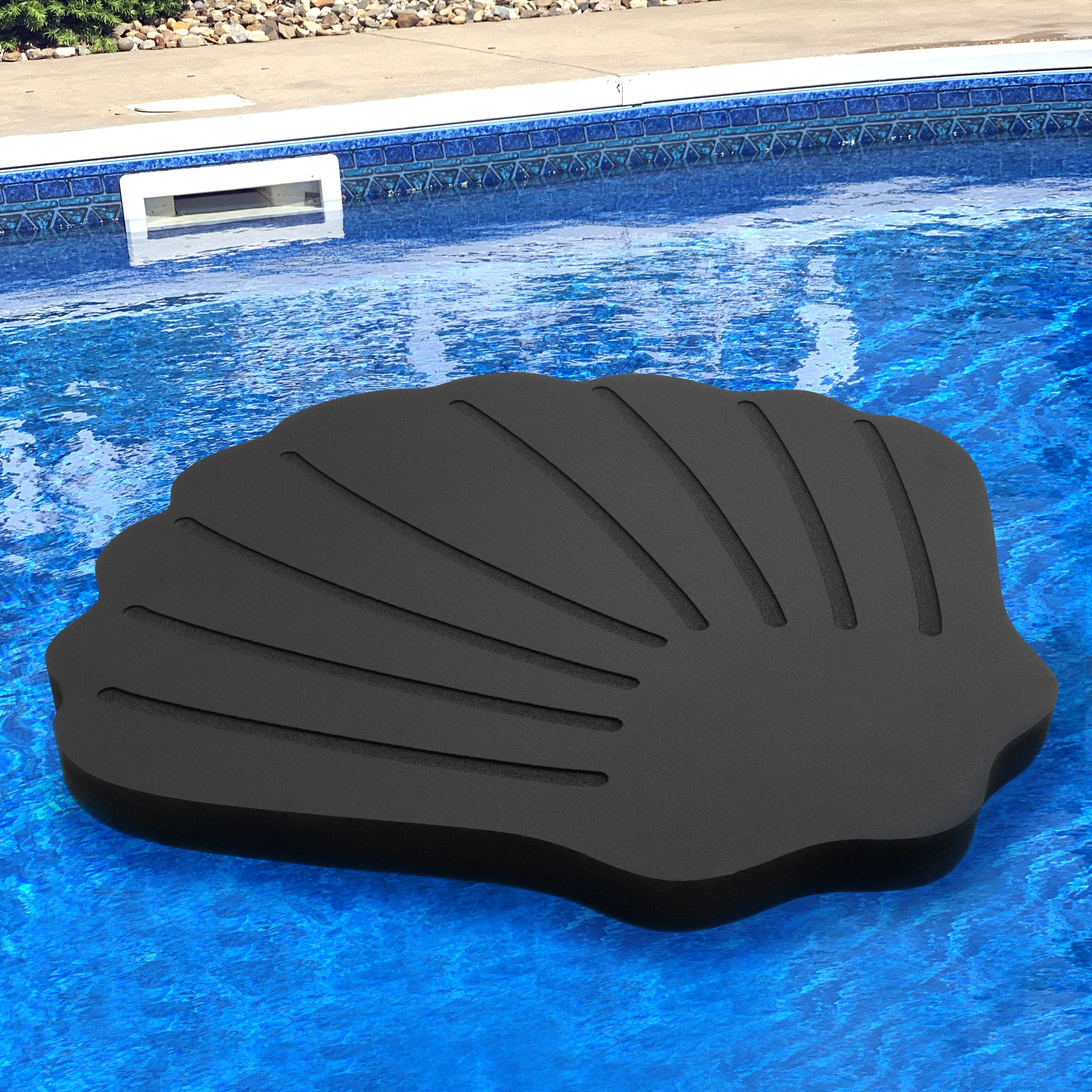 Floating Sea Shell Lounging Pool Float 40""